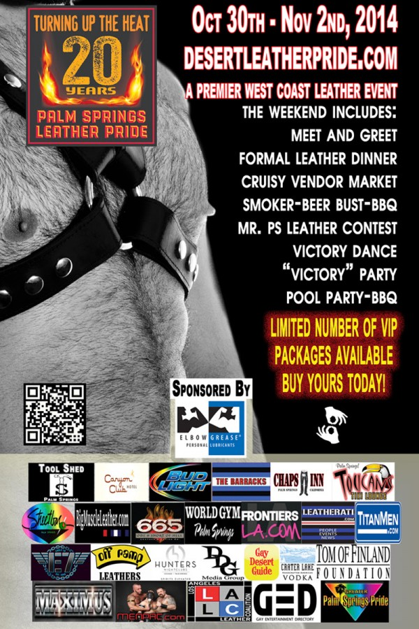 Palm Springs Leather Pride Poster