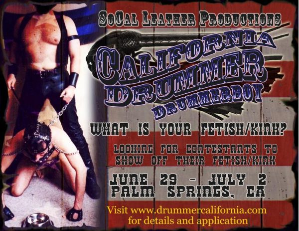 California Drummer Call for Contestants