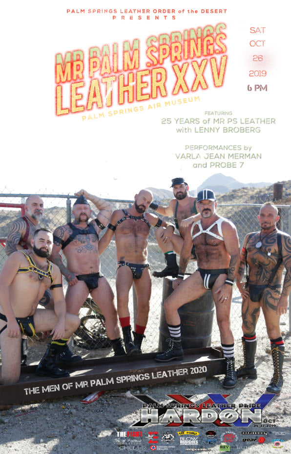 Mr. Palm Springs Leather 25 Contest