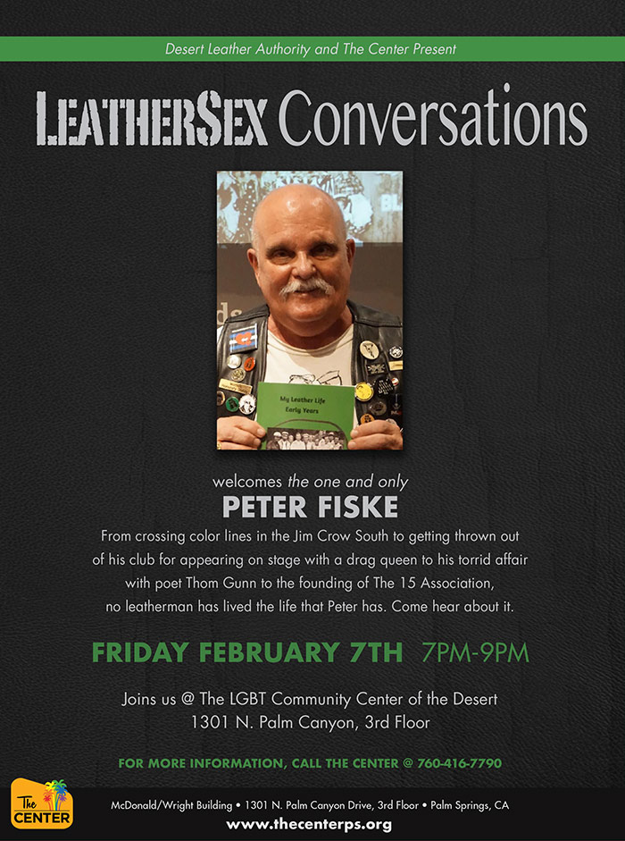 LeatherSex Conversations with Peter Fiske